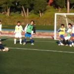 玉川学園サッカー部OB戦、その2