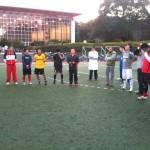 玉川学園サッカー部OB戦、その3