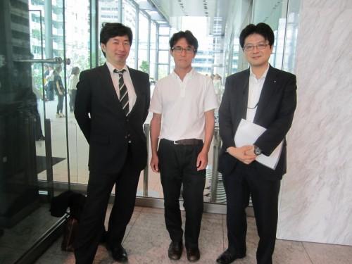 【2012年7月23日】プライム・ストラテジー株式会社を表敬訪問